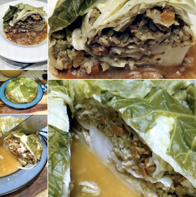 Fort Lauderdale Personal Chef - Vegan Chou Farci (Stuffed Cabbage) Recipe