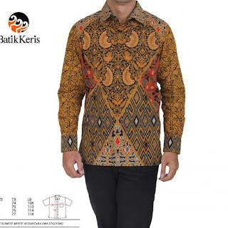 batik keris pria