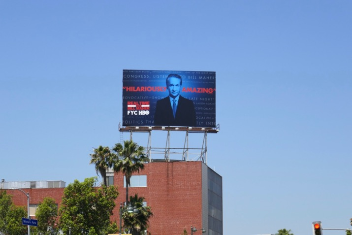 Real Time Bill Maher 2019 Emmy FYC billboard