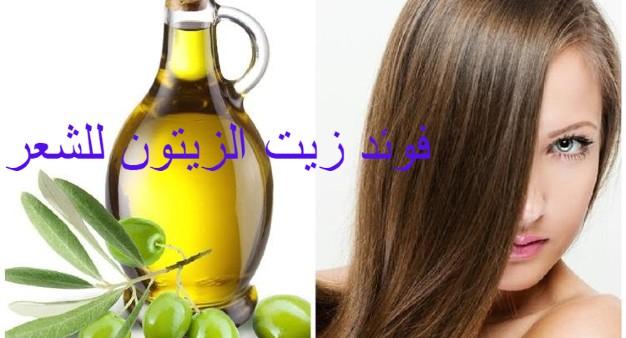 فوائد زيت الزيتون للشعر
