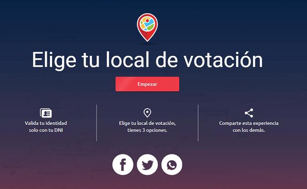 Elecciones 2021: Ya puedes elegir tu local de votación para las elecciones generales ¡¡ ENTRA AQUI !!