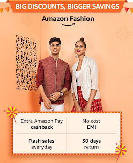 Amazon Great Indian Festival fashion Offer 25th September, 2019