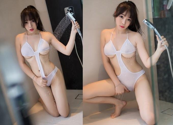 Nữ sinh không mặc đồ tắm, càng ngắm người lại càng nóng