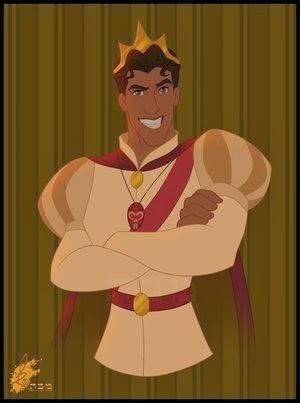 Le prince Naveen dans La Princesse et la grenouille