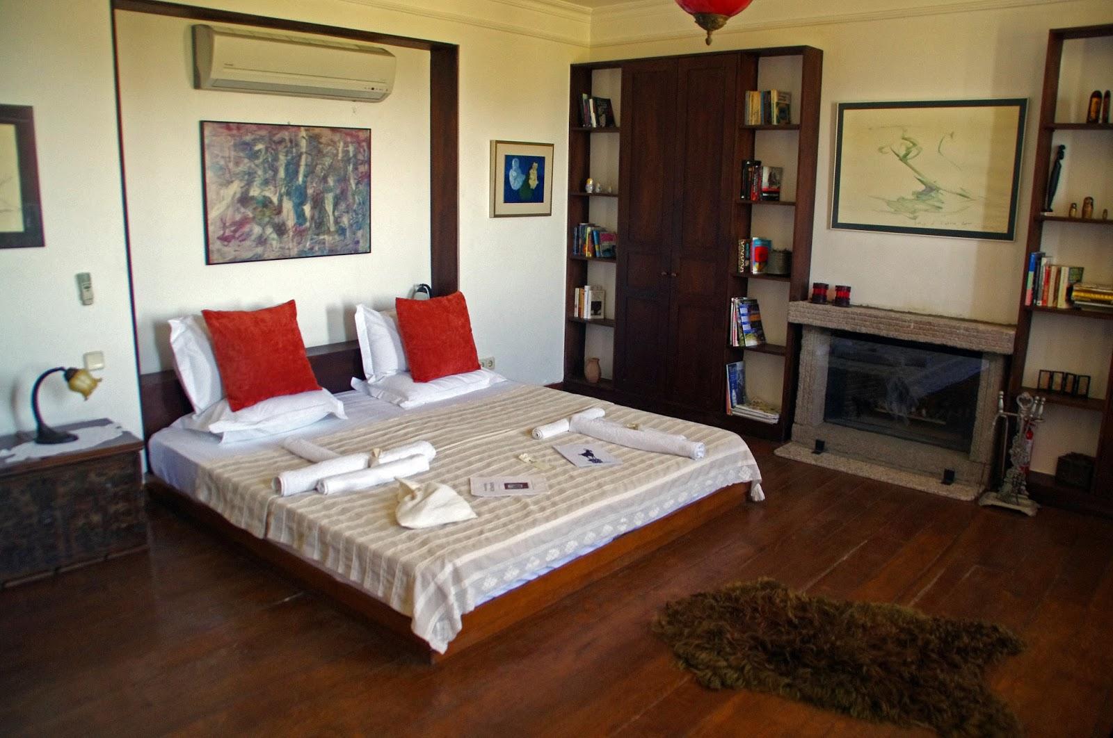 Beautiful bedroom at Assos Alarga Boutique Hotel