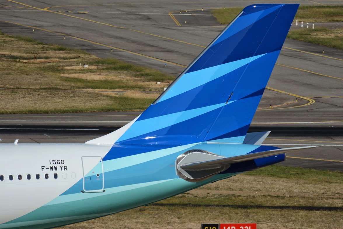 Flyingphotos Magazine News Garuda Indonesia A330 300 F Wwyr Wing Pilot Paul Bannwarth Tls