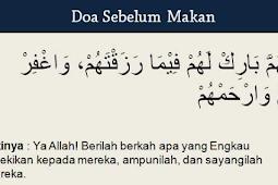 Doa Sebelum Makan Dan Sesudah Makan, Lengkap Dengan Artinya
