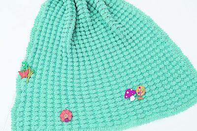 6 - Crochet, imagen linda sencilla cobija a relieve. Majovel Crochet