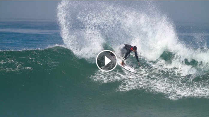 Surfing Lower Trestles with Mick Fanning Kanoa Igarashi and Kolohe Andino