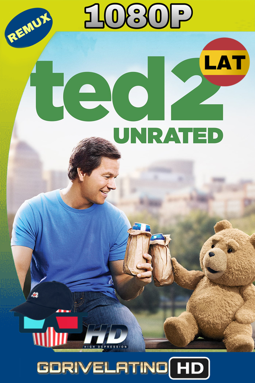 Ted 2 (2015) (UNRATED) REMUX 1080p  (Latino-Inglés) MKV