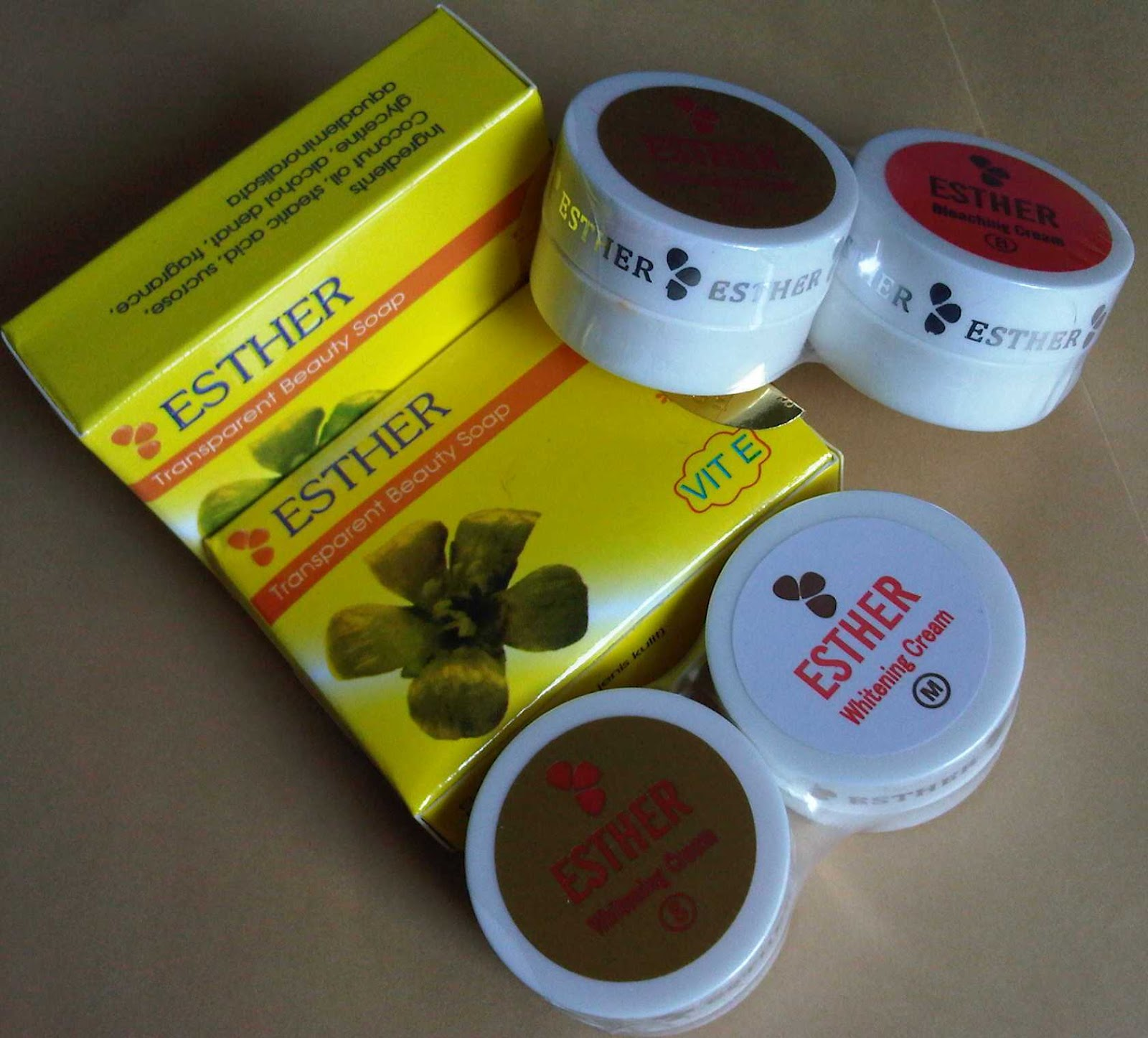 Jual Pilaten Cream Penghilang Jerawat Obat Menghilangkan: Jual Cream Esther - Cream Pemutih Wajah
