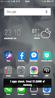 Tema iOS 8 untuk Oppo A37