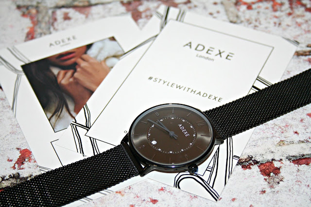 Adexe London Mac Grande Mesh Watch Dial