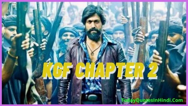 KGF Chapter 2' Trailer, New Release Date