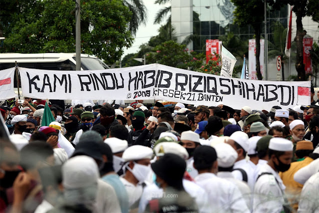 Ridwan Saidi Perkirakan Habib Rizieq Dijemput Jutaan Orang