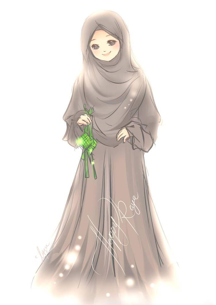 Kartun Muslimah Lucu Keren