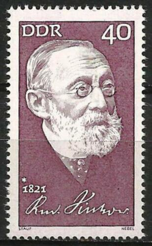 Germany (East) 1971  150th Birth Anniversary Rudolf Virchow Physician