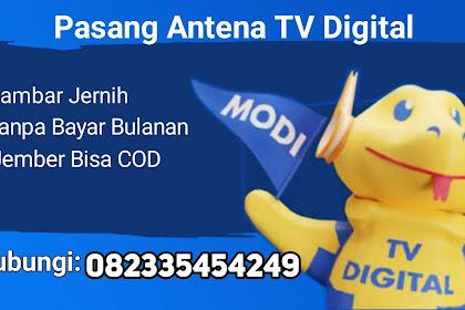 Pasang Antena TV Digital di Jember, Murah dan Berkualitas