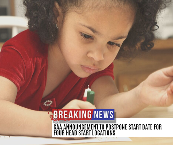 CAA Postpones Start Date for Head Start 2019 Program