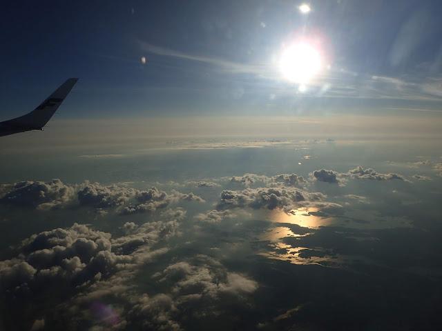 Zachód słońca nad Zatoką Fińską