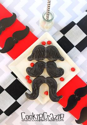 http://www.cookiecrazie.com/2015/06/easy-mustache-cookies-tutorial.html