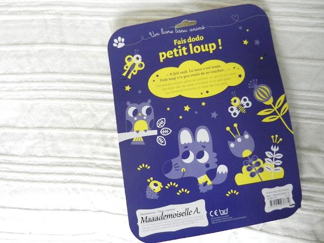 || Joyeux Noël ! - Idées cadeaux pour bébé de 7/8 mois Fais dodo petit loup !
