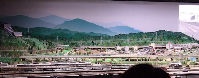 鉄道ジオラマ1