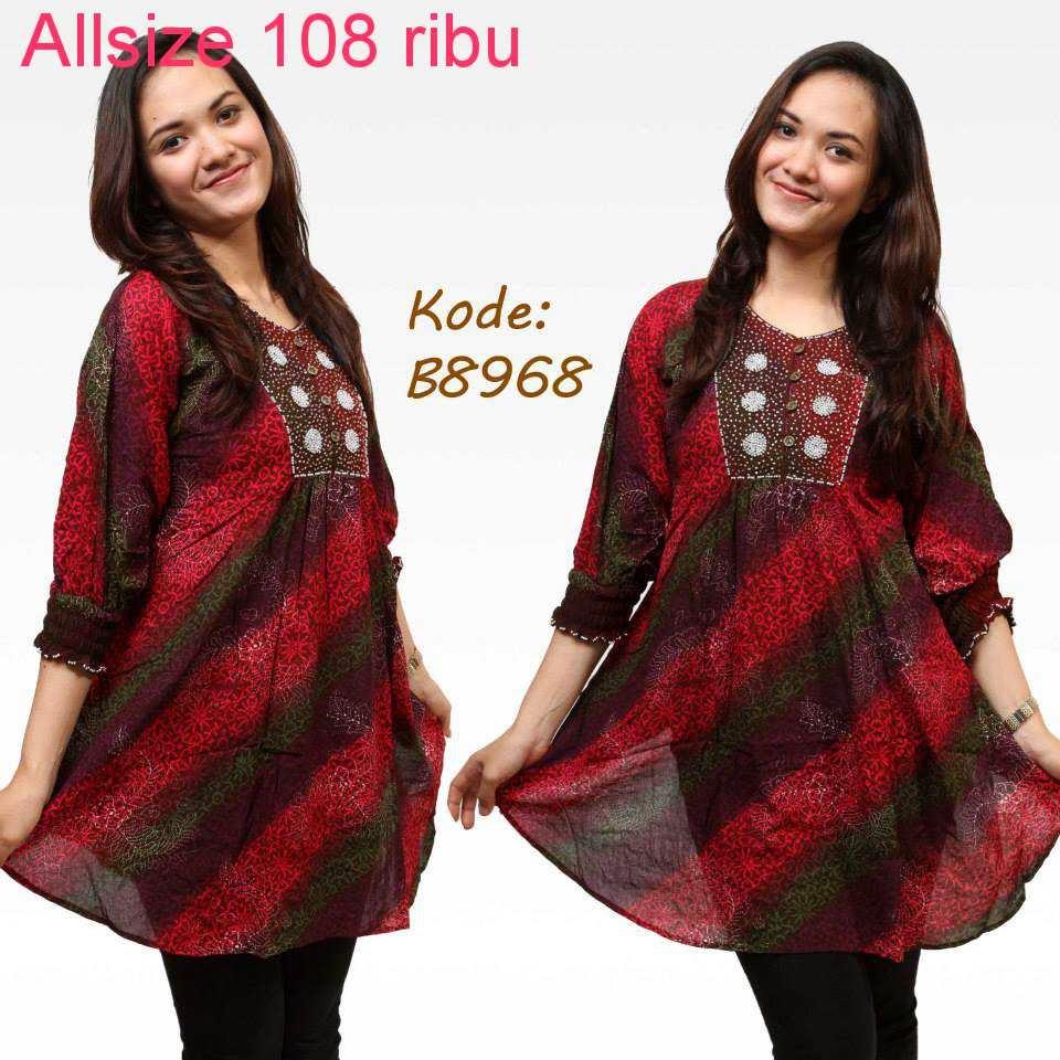 Model Baju Batik Zaskia Mecca: Lihat Model Baju Batik Ini