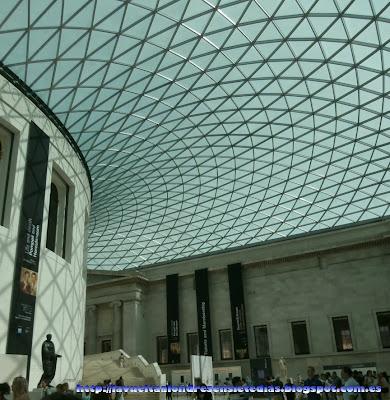 Patio interior del British Museum