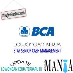 Lowongan Kerja Staf Senior Bank BCA April 2016
