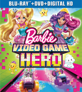 Universal Home Video Barbie Video Game Hero Blu-ray