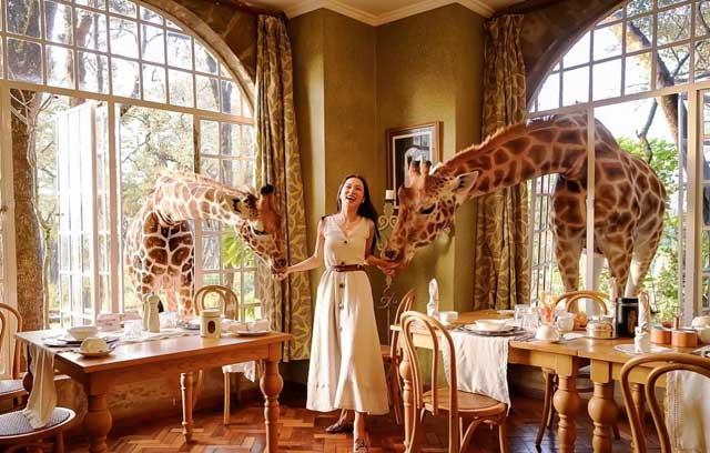 Giraffe Manor, Kenya
