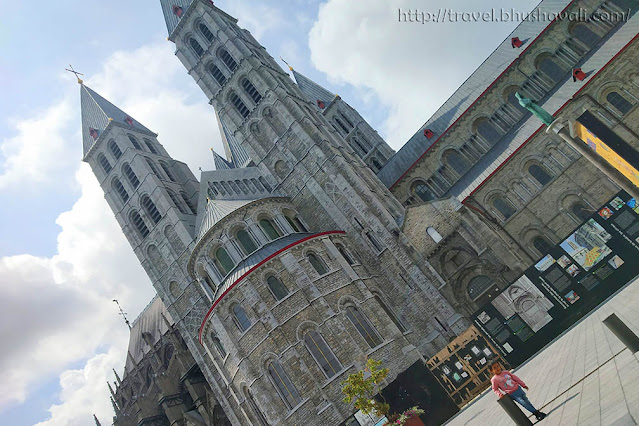 Notre Dame Cathedral Tournai Belgium UNESCO World Heritage Site