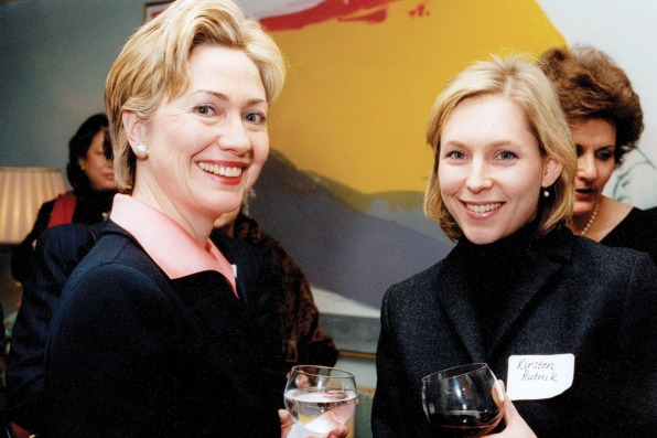 Kirsten Gillibrand: Hillary Clinton is 'my greatest role model in politics'