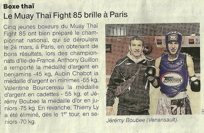 ARTICLE JOURNAL OUEST FRANCE PAGE SPORT DU 15/02/12