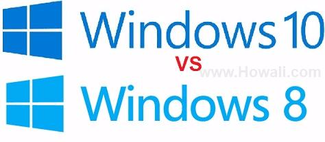Windows 10 vs Windows 8 Comparison, Difference