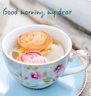 souhaite de bon matin romantique avec images