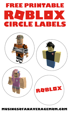 Free Roblox birthday printables