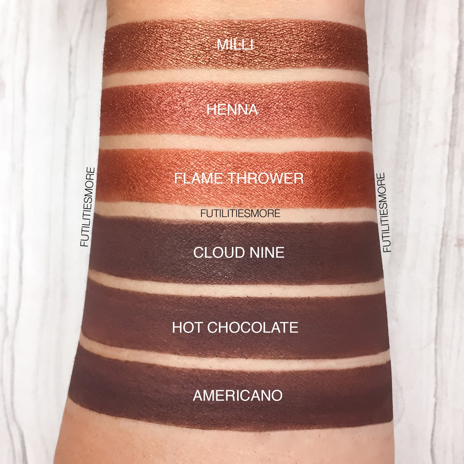 WARM BROWNS AND COPPERS Colourpop VS Anastasia Beverly Hills