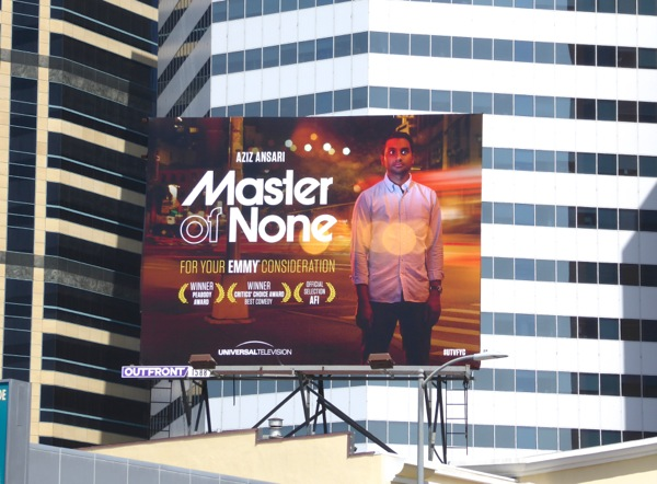 Master of None 2016 Emmy FYC billboard