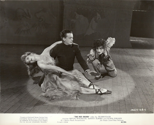 Original publicity still for the film 'The Red Shoes.' From The Red Shoes (1948) Collection at Ailina Dance Archives