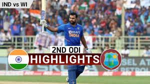 Highlights of Ind vs WI 2nd ODI 2019