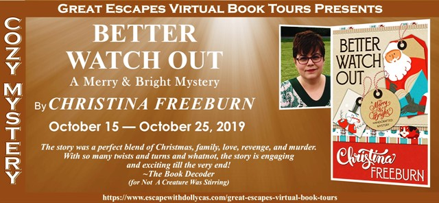 FEATURED AUTHOR: CHRISTINA FREEBURN