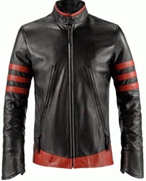 Gambar Jaket Wolverine Garis Merah