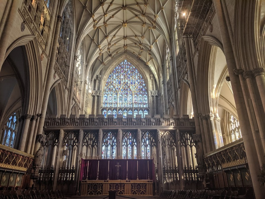 Image - inside York Minster