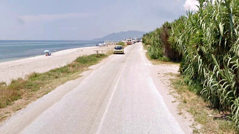 Κίνδυνος κατεδάφισης του παραλιακού δρόμου Δικέλλων - Μεσημβρίας ως αυθαίρετου τεχνικού έργου