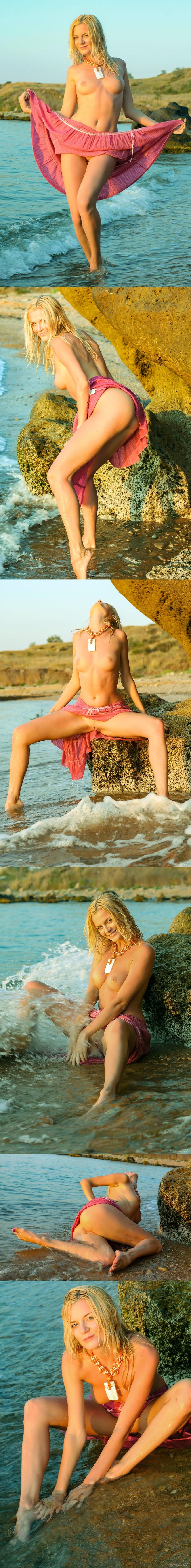 [Stunning18] Stesha - Pink Long Skirt - Girlsdelta