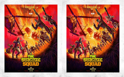 The Suicide Squad DC FanDome Concept Art Movie Posters