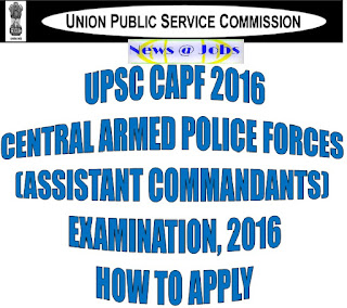 upsc+capf+how+to+apply