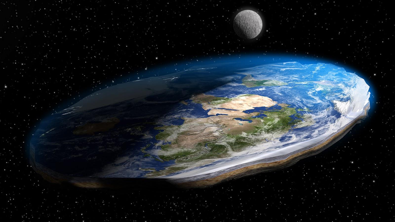 Flat-earth Brazil